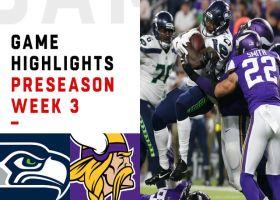 Seahawks vs. Vikings highlights | Preseason Week 3