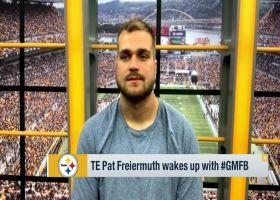 Pat Freiermuth talks relationship with Ben Roethlisberger