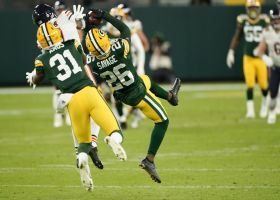 Can't-Miss Play: Darnell Savage's TREMENDOUS leap nets Pack INT