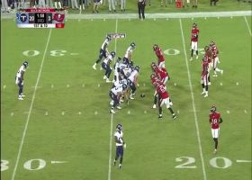Dez Fitzpatrick's clean route sets up 23-yard TD grab