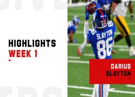 Every Daniel Jones to Darius Slayton connection on 'MNF' | Week 1