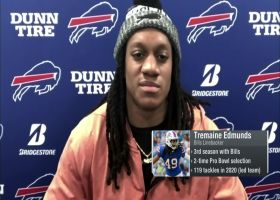 Tremaine Edmunds: Bills 'still have that nasty taste in our mouth' from last year's playoff loss