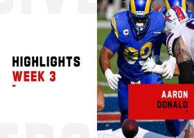 Aaron Donald's biggest defensive plays vs. the Bills | Week 3