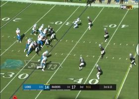Matthew Stafford displays incredible accuracy on 15-yard dart to Marvin Jones