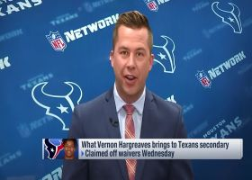 James Palmer talks about how Texans will use Vernon Hargeaves