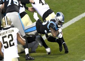Panthers OL paves the way for Rodney Smith's goal-line TD run