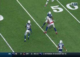Benjamin reaches high for 32-yard gain