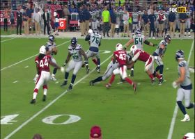 Haason Reddick wraps up Russell Wilson for 6-yard loss | True View
