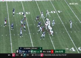 Can't-Miss Play: Zach Wilson keeps cool after bobbled snap for 29-yard strike
