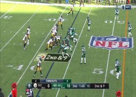 Jaylen Samuels turns screen into slippery 27-yard pickup