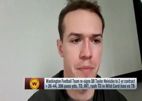 Heinicke: 'It's going to be a competition' for starting QB position
