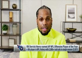 Derrick Henry: 2,000 yards is always on a RB's mind