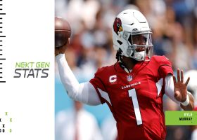 Next Gen Stats: Kyler Murray's 5 least probable completions | Week 1