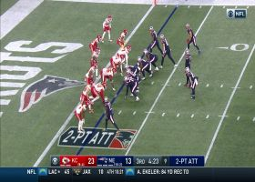 Chiefs' D stonewalls James White to deny Pats' two-point try