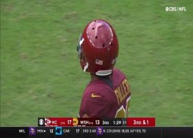 Kendall Fuller has unfriendly greeting for former teammate Hill on screen pass