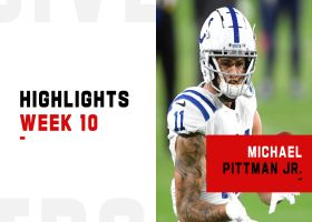 Every touch from Michael Pittman Jr.'s 122-yard night | Week 10
