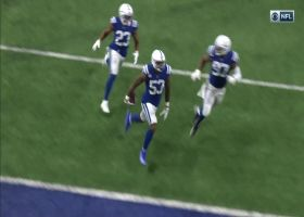 Darius Leonard outmuscles Mike Gesicki for strong INT