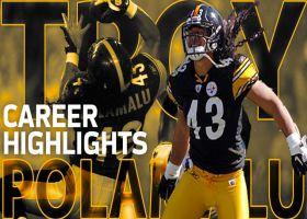 Troy Polamalu career highlights | NFL Legends