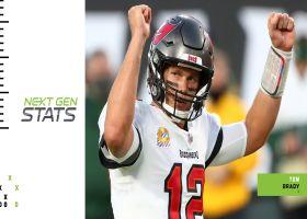 Next Gen Stats: How Brady, Bucs beat Rodgers
