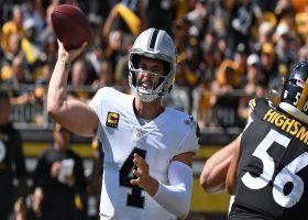 Raiders' offense excels vs. Steelers in Week 2 | Baldy's Breakdowns