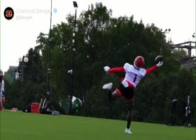Must See: Ja'Marr Chase makes unreal one-handed grab at Bengals camp