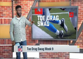 Burleson breaks down top toe-drag swag catches of Week 9
