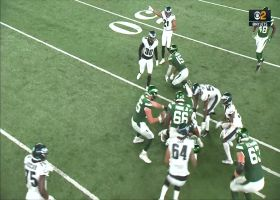 Kevon Seymour pickpockets Lawrence Cager for slick INT