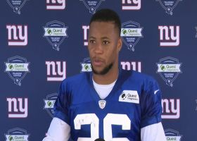 Saquon Barkley on Micah Parsons: 'He's a freak athlete'