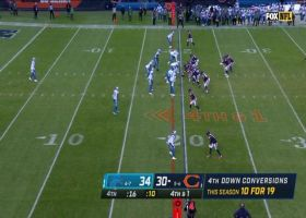 Lions stuff Montgomery on fourth-down TFL to ice the game