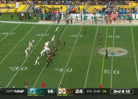 Fitzpatrick spins out of pressure to hit Grant for big third-down pickup