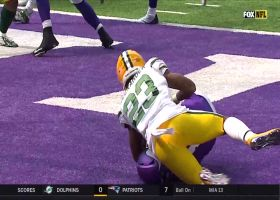 CB blitz = safety: Jaire Alexander gets Packers two points via sack