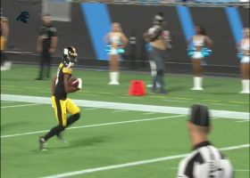 Ray-Ray McCloud turns short pass into untouched TD trot