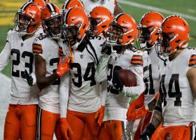 Fine like Redwine: Browns nab second INT of the quarter on deflected pass