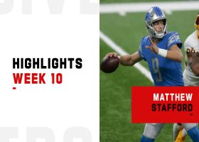 Matthew Stafford's best throws from 3-TD game | Week 10