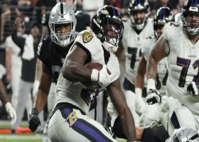 Latavius Murray's first Ravens TD gives new team a late lead