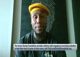 Carlos Dunlap encourages people to 'dig deeper' into their mental health