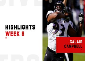 Calais Campbell's best plays from 3-sack game | Week 6