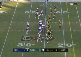 Robinson makes twisting back-shoulder grab to give Bears a first-and-goal