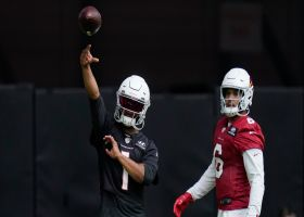 Camp highlight: Kyler Murray lobs deep dime to Rondale Moore