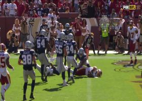 Paul Richardson fights for every yard on diving touchdown