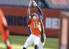 Can't-Miss Play: Easy Mooney! Rookie WR leaps for stellar 33-yard grab