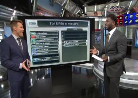 LaDainian Tomlinson ranks his Top 5 running backs in AFC right now