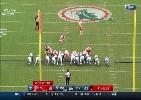 Harrison Butker's 46-yard field goal couldn't be more perfect