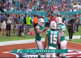 Fitzpatrick finds Laird out of the backfield for successful two-point conversion