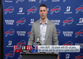 Josh Allen after wild-card loss: I've 'got to be smarter'