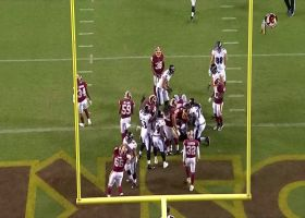De'Lance Turner bullies through Redskins defense for TD to seal win