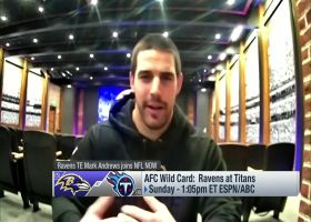 Mark Andrews: Ravens are 'starting to hit (stride) at the right time'
