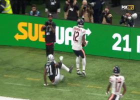 Robinson looks like basketball player high-pointing Daniel's throw for second TD