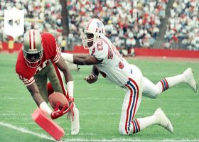 NFL Throwback: 49ers' top 5 plays vs. Patriots