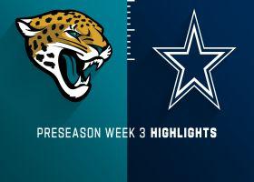 Jaguars vs. Cowboys highlights | Preseason Week 3